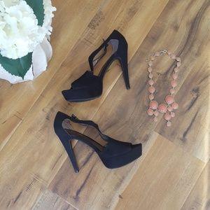 Carlos santana sexy black heels
